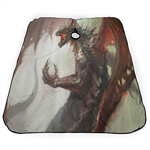 Haarschnitt Cape Mittelalterliche Mythologie Legendary Dragon Professional Salon...