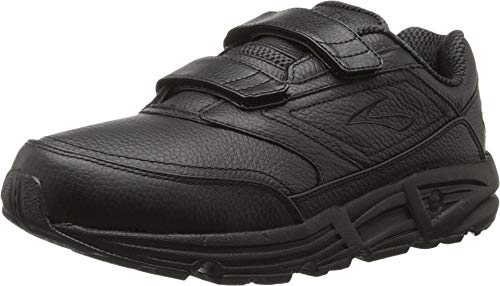 Brooks Herren Addiction Walker V-Strap Walkingschuhe, Schwarz (Black 001), 42.5 EU