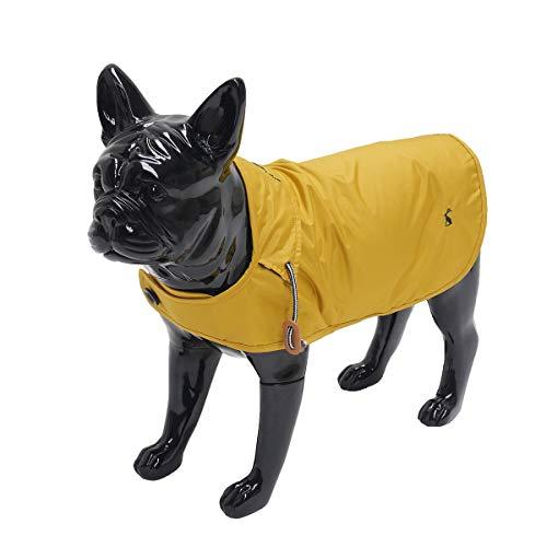 Joules hondenjas regenjas mustard geel 66 CM