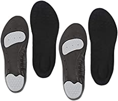 インソール 中敷き 衝撃吸収 2足セット4枚 スポーツ 立ち仕事 メンズ レディース 革靴 スニーカー ブーツ サイズ調整可能