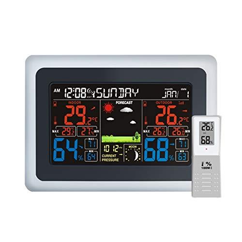 estación meteorológica con sensor inalámbrico de la marca YUNSHAO