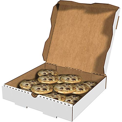 1 7//8 Deep 10 Oven Fresh Pizza Print Pack of 50 Pratt PRA1310 Pizza Box White//Kraft B-Flute