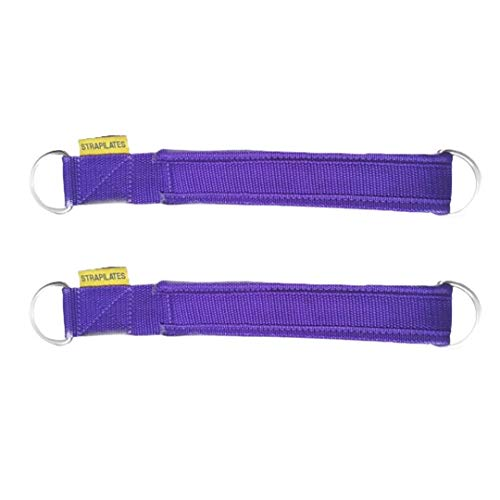 Strapilates Purple Reformer Straps. The Fashionable and hygienic Solution for Your Pilates Needs