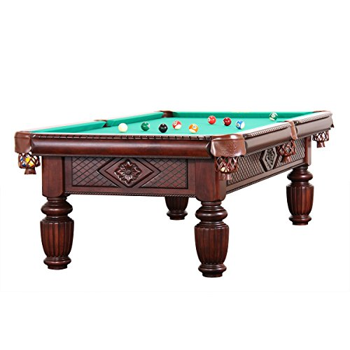 Billiard-Royal - Tavolo da piscina modello Apollo, 9 m, colore: Verde