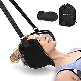 Hamaca colgante masajeadora para cuello y hombros, para una mejor relajación del cuello en la oficina o en casa, para hombres y mujeres