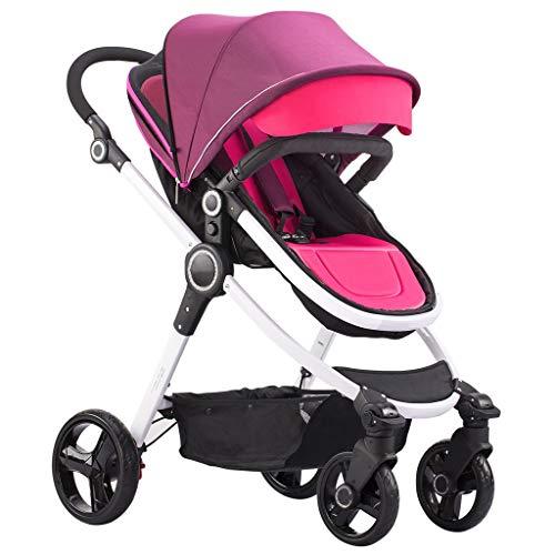 Comvenience Pram, lichte infant wandelwagen met compacte vouwen, multi-positie recline, canopy met pop-out zonneklep en meer - paraplu wandelwagen voor reizen en nog veel meer