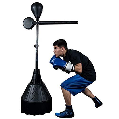 ZZZR Heavy Duty Boxsack, Swing Free Standing Boxing Boxsack, Boxsack Strong Durable, Feder widersteht harten Schlägen für das Sparring Boxing Kicking Training