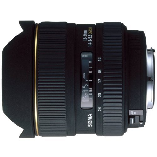 Sigma 12-24mm f/4. 5-5. 6 ex dg if hsm aspherical ultra wide angle zoom lens for canon slr cameras