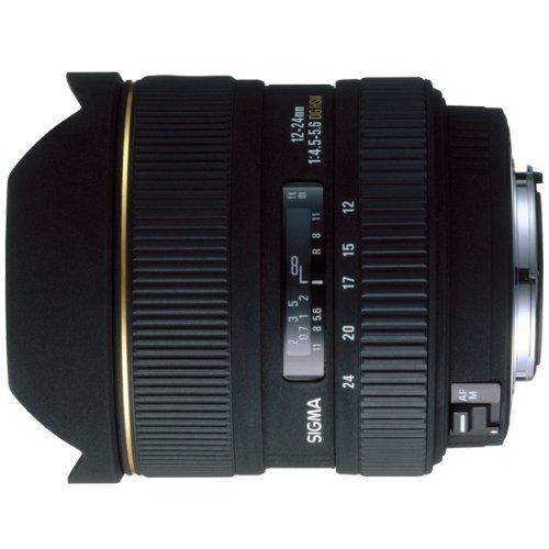 Sigma 12-24mm F4,5-5,6 EX DG HSM Objektiv (Gelatinefilter) für Canon