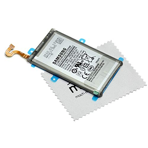 Batería para Samsung Original para Samsung Galaxy S9 Plus (G965F) EB-BG965ABE con mungoo Pantalla paño de Limpieza