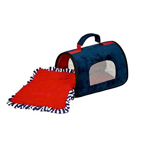 Spiegelburg 14431 Reisetasche für Plüschtiere Lustige Tierparade