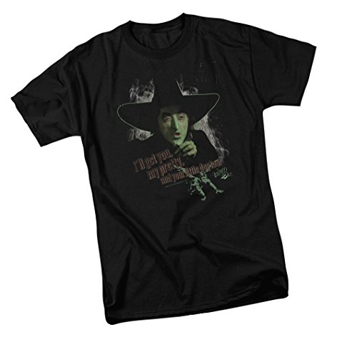 Warner Bros. and Your Little Dog Too! - The Wizard of Oz Adult T-Shirt, XX-Large Black