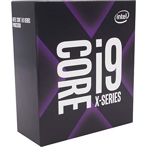 Intel Core i9-9820X X-Serie Prozessor (10 Kerne bis zu 4,1 GHz, Turbo ohne SIM-Lock, LGA2066 X299 Series 165W Prozessoren) (999AC8)