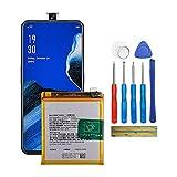 Fruisiy Batería BLP737 para Oppo Reno2 Z CPH1945 CPH1951 PCKM80 PCKM70 PCKT00 PCKM00 + herramientas