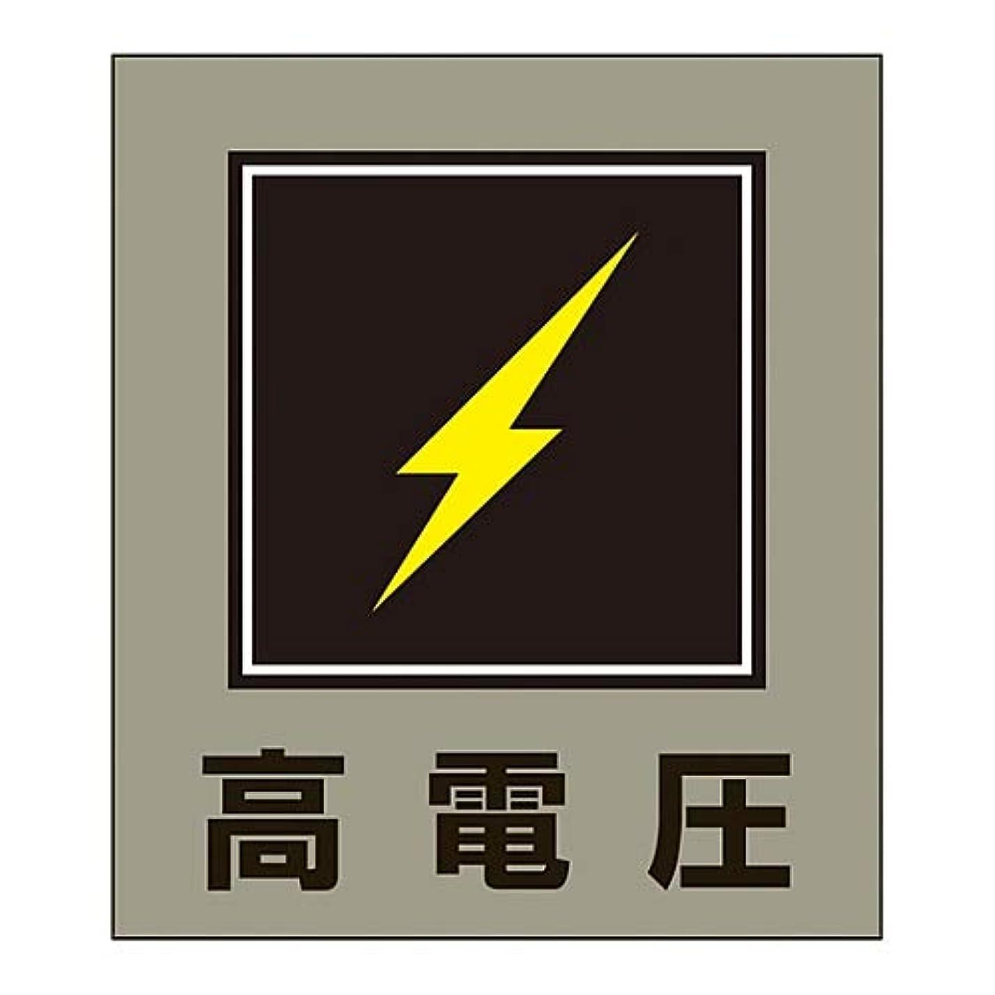 通り抜けるダルセット伝記外国語ステッカー GK-11(高電圧)/61-3412-97