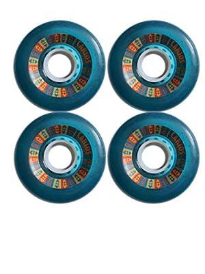 Skateboard Blank Wheel Set 51mm Neon PINK - Skateboard Blank Rollen Top!