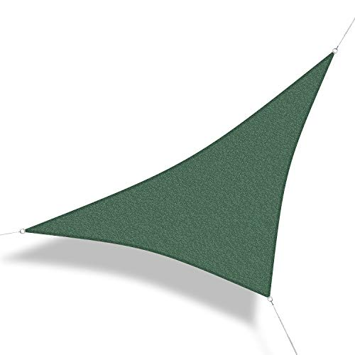 Corasol COR10 Voile d'ombrage perméable 3,6 x 3,6 x 5 m Vert