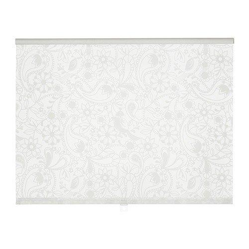 IKEA LISELOTT Rollo in weiß; (120x195cm)