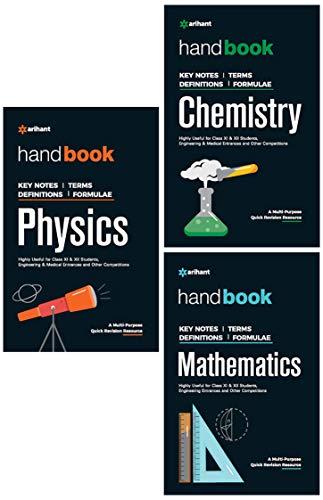 Handbook of Physics, Chemistry, Mathematics (Set of 3 Books)