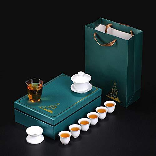 Gao Bai Kungfu tea set portable gift box travel business company activities open-Style six