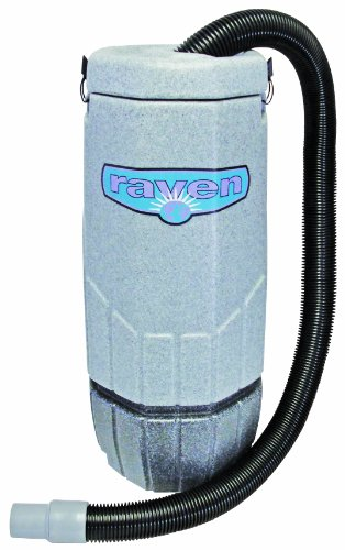 Fantastic Prices! Sandia 20-2001 XP-3 Whisper Raven Commercial Backpack Vacuum with 5 Piece Standard...