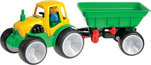 Gowi - 561-08 - Jouet D'éveil - Tracteur + Remorque