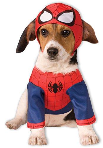 Rubis Officiel pour Chien Spider Man Costume – Grand