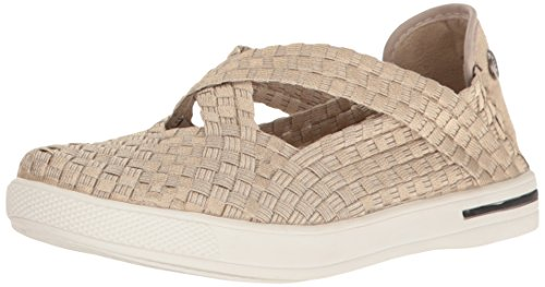 Bernie Mev Women's Brooklyn Fashion Sneaker, Light Gold, 38 EU/7.5 M US