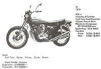 Kawasaki  純正部品Z1 5 REAR VIEW MIRROR ASSY左右 56002021 1030 4796