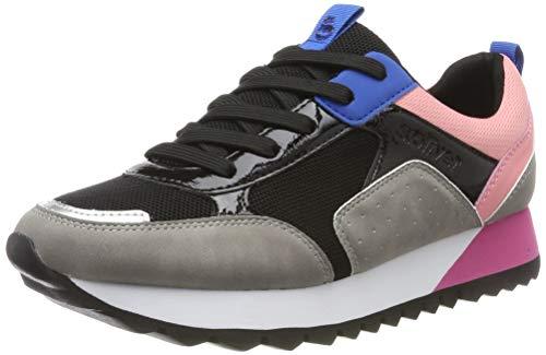 s.Oliver Damen 5-5-23614-33 Sneaker, Grau (Lt Grey Comb 218), 38