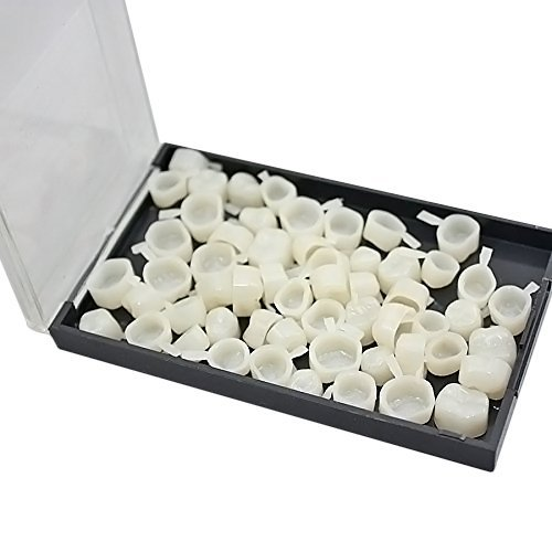 BoNew 1 Box/50pcs Temporary Crown Material for Molar Teeth