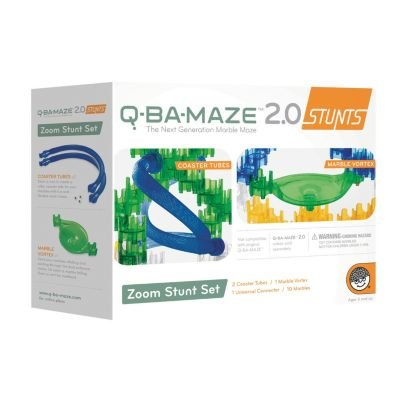 Q-BA-MAZE 2.0 Zoom Stunt Set by MindWare