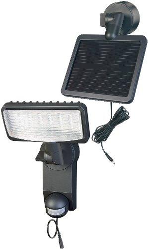 Brennenstuhl LED-Strahler Premium SOL LH / LED-Leuchte für außen mit Bewegungsmelder (IP44, inkl. Solar-Panel und Akku, 12 x 0,5 W) Farbe: anthrazit
