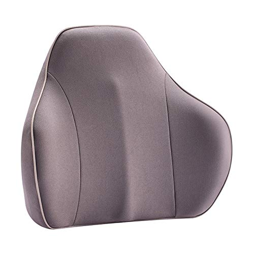 Kuingbhn Lumbar Back Support Cushion Lumbar Support Back Cushion Memory Foam Orthopedic Lumbar Pillow For Office Chair Or Car 4 Color for Lower Back Pain, Driving Seat, Office Chair