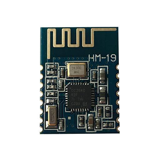 DSD TECH HM-19 Modulo Bluetooth 5.0 BLE con Chip CC2640R2F Compatibile con dispositivi iOS
