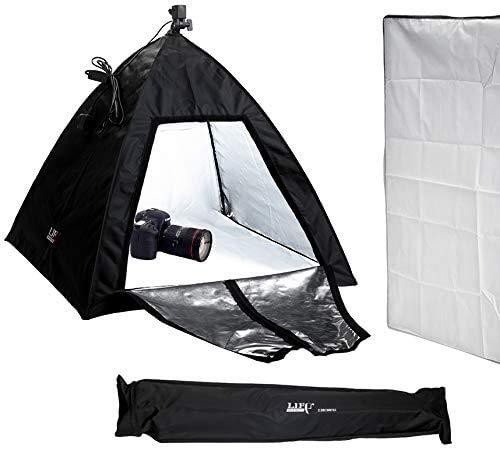 Faltbarer Softbox-Diffusor   Doppelzweck   Dauerlicht   75x75cm   Square Folding Softbox/Produktfotografie Lichtwürfel Zelt   Ideal für Portrait, Produkt, Event, Baby, Fotografie und Video