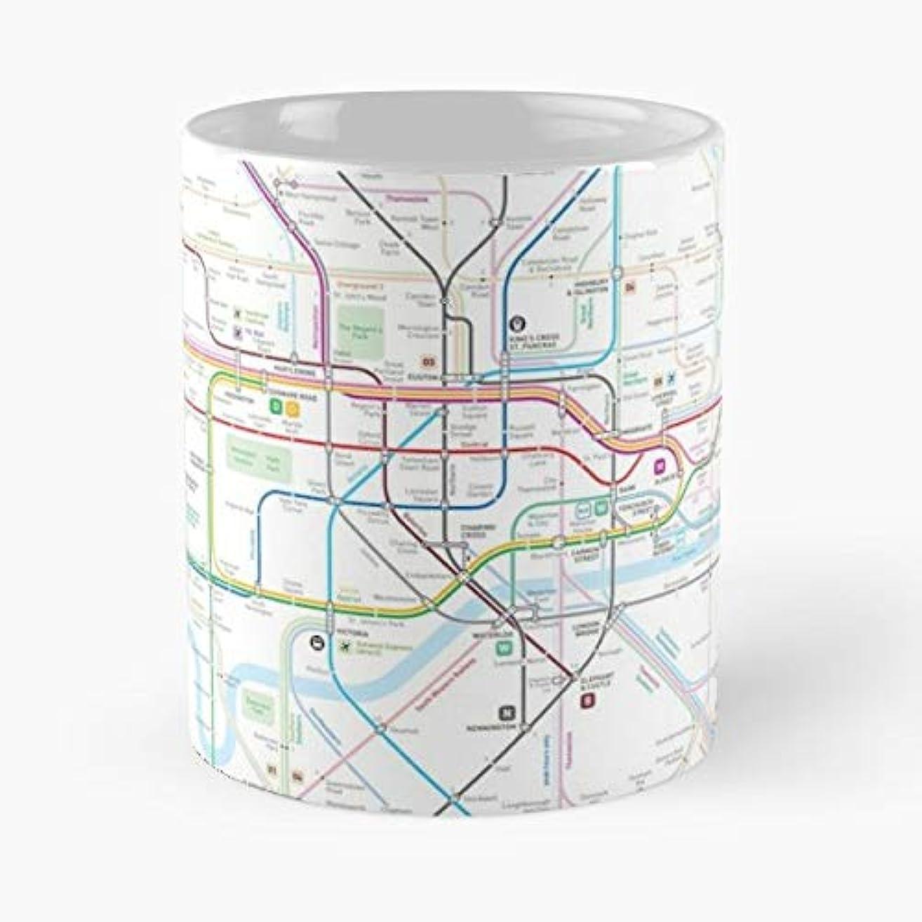 London Uk England Subway Gift Coffee/tea Ceramic Mug Father Day