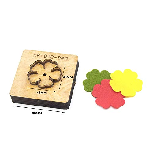 BOERNISEN Leather Flower ized Leather Cutting die Handicraft Tool Punch Cutter Mold DIY Paper Laser Knife(Style4)