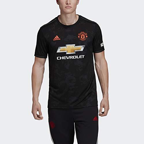 adidas 2019-20 Manchester United Third Jersey - Black L