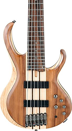 Ibanez BTB746 6-String Electric Bass Guitar Low Gloss Natural