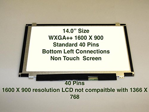 BRIGHTFOCAL New Screen Fits Dell DP//N Digitizer Replacement LED LCD Screen Display 0HXNNJ HXNNJ 15.6 HD WXGA Embedded Touch Screen LED