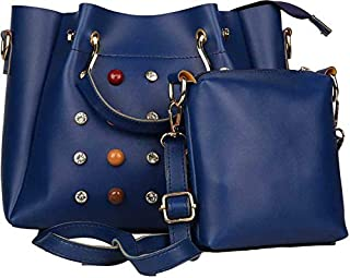 34dfd8475 TYPIFY® Leatherette 2Pcs Combo Sling Handbag for Women and Girls College  Office Bag, Stylish