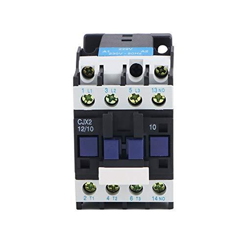 AC contactor 12A (LC1-D) CJX2-1210 380V220V 36V 24V