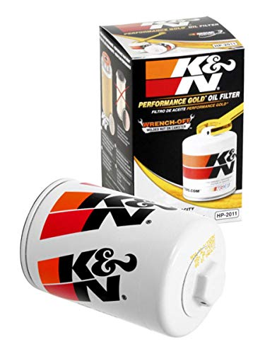 K&N Premium Oil Filter: Designed to Protect your Engine: Fits Select BUICK/CADILLAC/CHEVROLET/FORD Vehicle Models (See Product Description for Full List of Compatible Vehicles), HP-2011