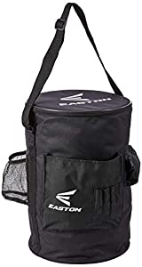 600D polyester construction withstands multiple seasons of coaching baseball or softball Fits over a 6-gallon bucket and has a range of pockets for versatile storage Adjustable shoulder strap makes it easy to carry equipment to and from practice Soft...