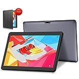 LNMBBS 4G LTE Tablette Tactile 10 Pouces, Android 10.0 Tablette 64 Go de mémoire et 4 Go de RAM, Buletooth WiFi GPS (Gris)