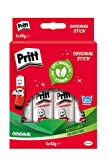 Pritt Stick Glue Solid Washable Non-Toxic Large 43G Ref 1456072 [Pack Of 5]