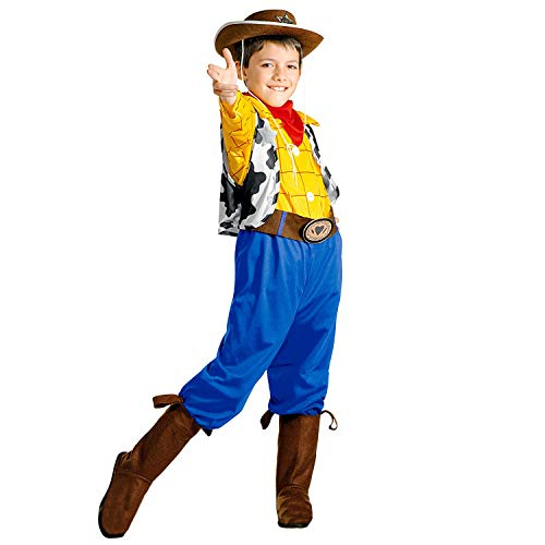 WIDMANN Disfraz infantil de Billy, camisa, pantaln, cinturn, botas y pauelo, vaquero salvaje, 116 cm, 38335 38335