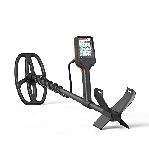 Quest X10 Metal Detector with high Performance 9x5 Blade TurboD Double D...