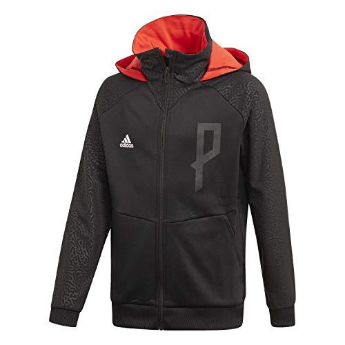 adidas Jungen Sweatjacke Predator FZ Black/HI-Res RED S18 128